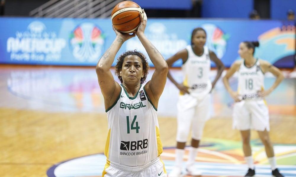 Érika Basquete Seleção Brasileira