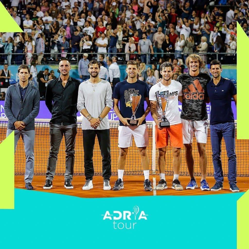 Novak Djokovic - Coronavírus - Adria Tour