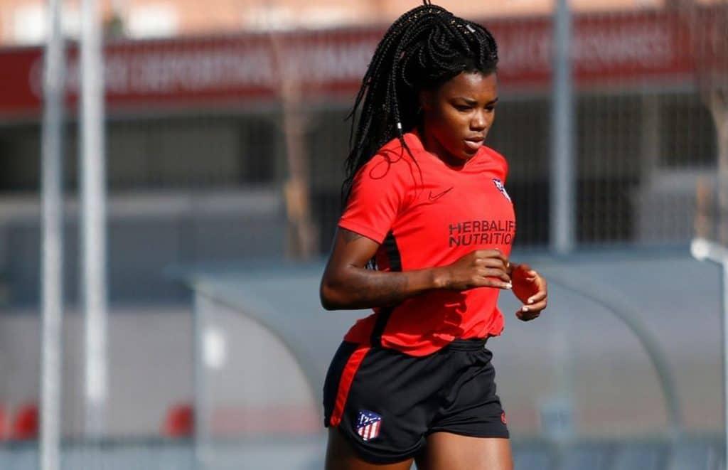Ludmila Atlético de Madrid covid-19 futebol