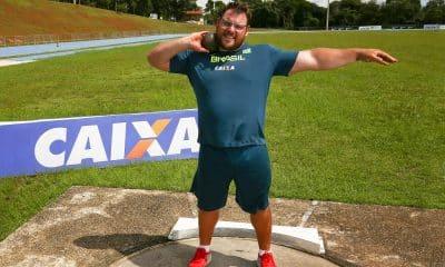 Darlan Romani, recomeça treinos com foco nos Jogos Olímpicos Atletismo brasileiro