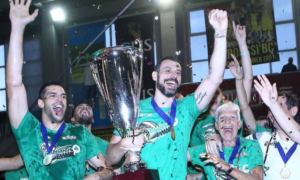Lucas Rangel Panathinaikos campeão Grécia