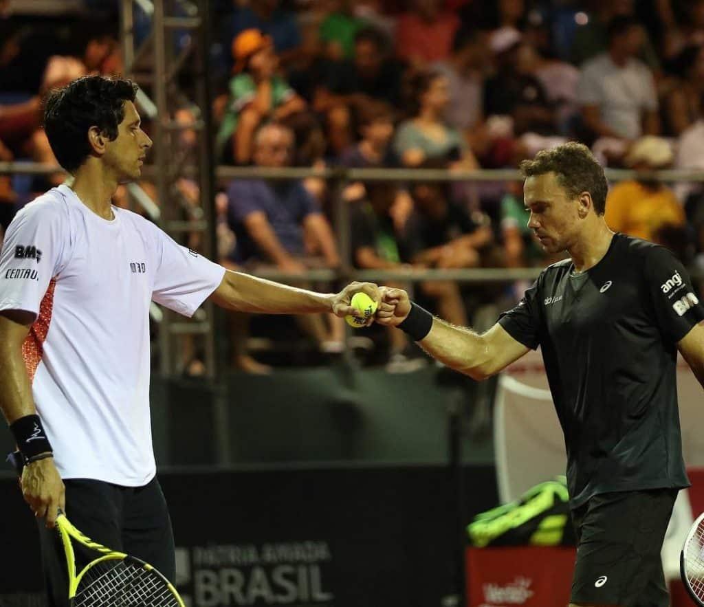 Marcelo Melo e Bruno Soares