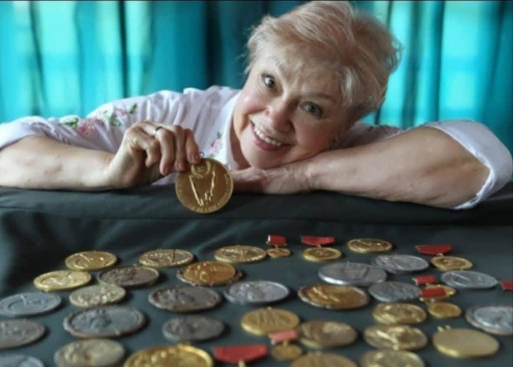 Larisa Latynina - Mulheres mais vencedoras da história das Olimpíadas