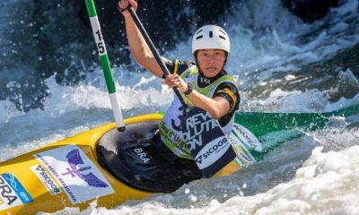 Ana Sátila será a representante da canoagem slalom feminina nos Jogos Olímpicos de Tóquio 2020