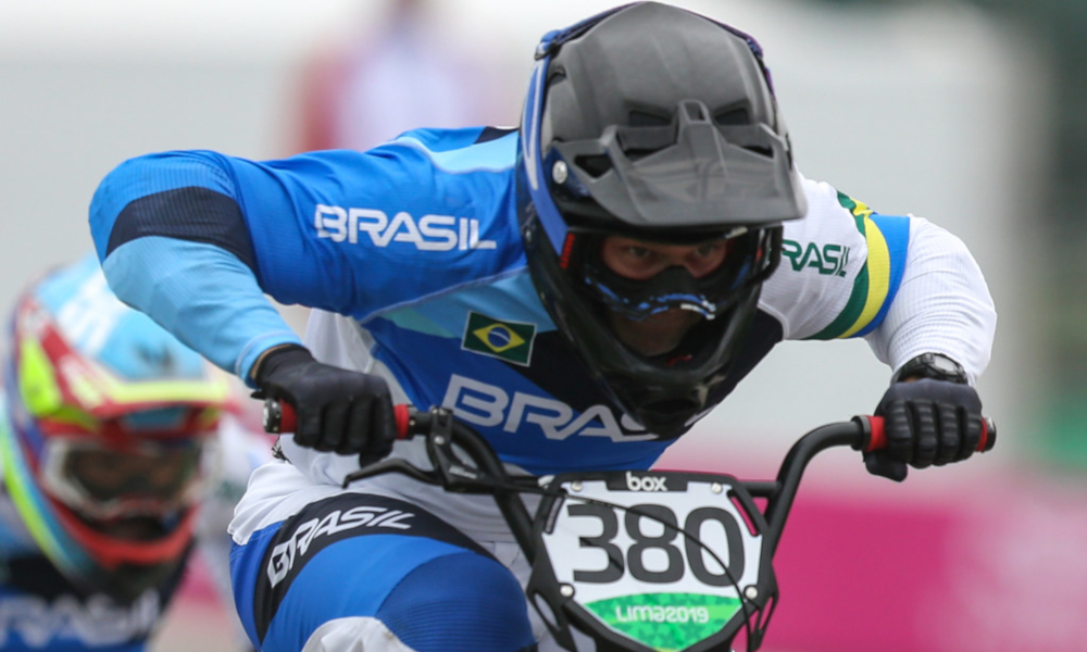 Anderson Ezequiel Andinho Ciclista Brasileiro BMX