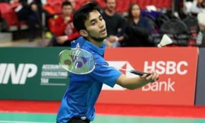 Lakshya Sen Badminton BWF Super 100 Cancelamento