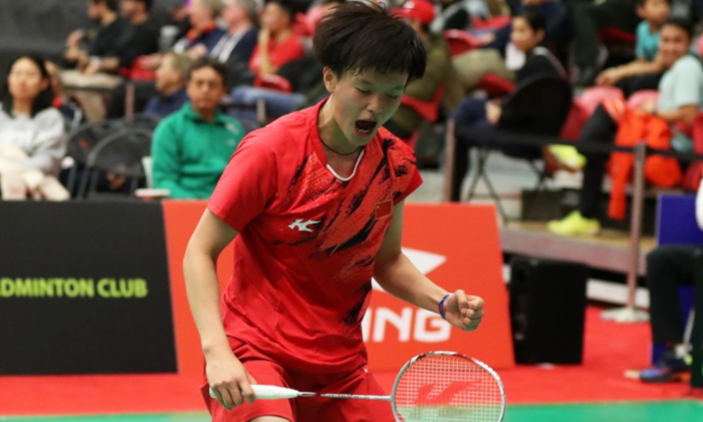 Wang Zhi Yi Badminton BWF Super 100 Cancelamento