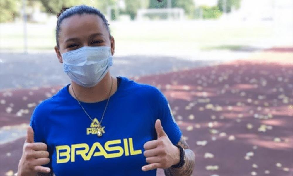 Bia Ferreira Judô Atletas Brasileiros Missão Europa COB Portugal Natação Nado Artístico Boxe