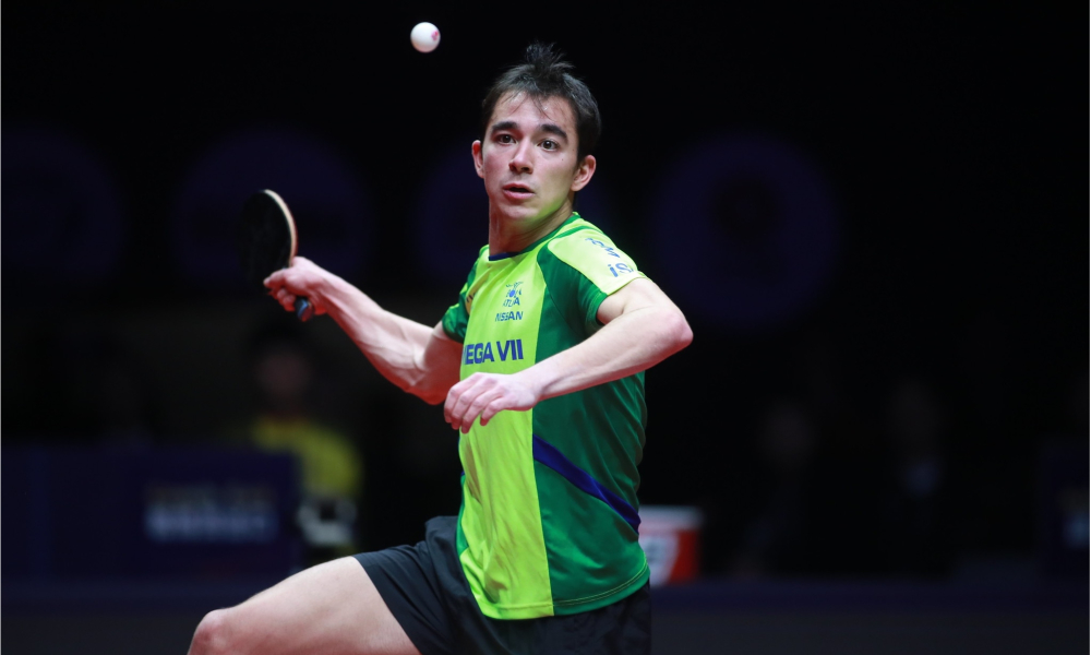 Hugo Calderano - Tênis de mesa - Ranking tênis de mesa - Top 10 - brasil