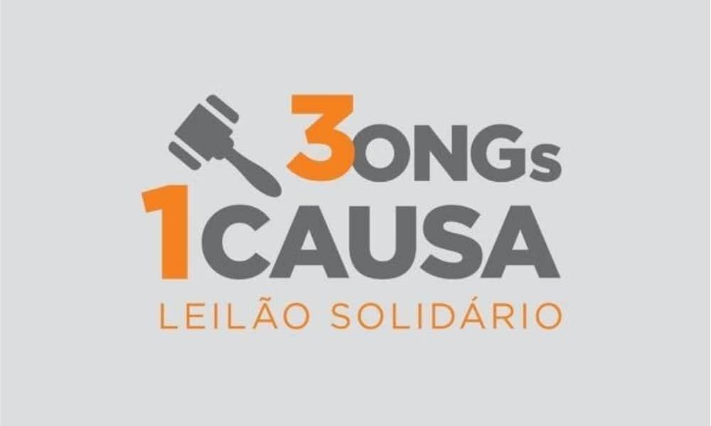 3ONGs1Causa - Leilão