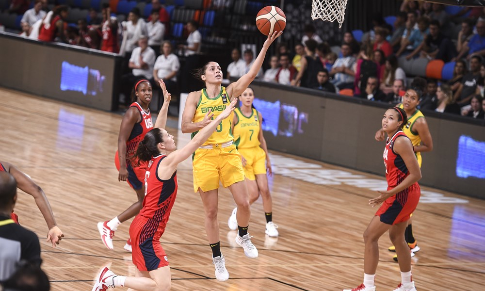 Débora Costa Luleå Basket Basquete Sueco Seleção Brasileira Ouro Pan-2019