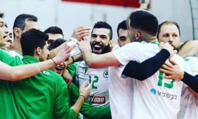 Lucas Rangel Panathinaikos grego de vôlei