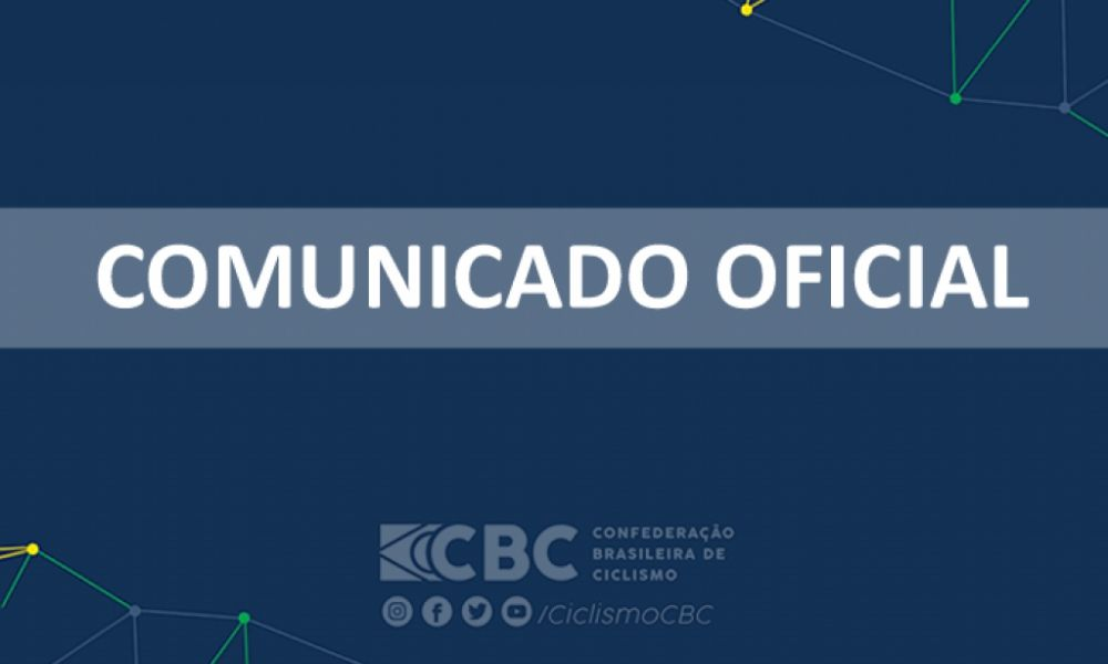 CBC Comunicado oficial