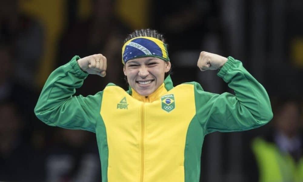 Bia-Ferreira é a líder do ranking mundial de boxe na categoria até 60 kg