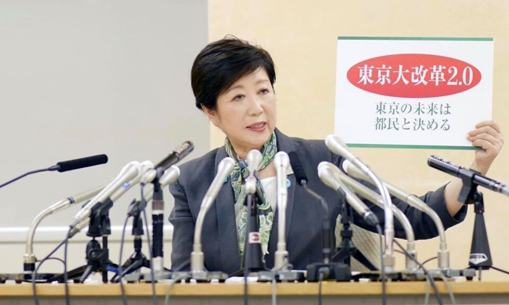 Yuriko Koike contou com 55% dos votos eleição governadora de Tóquio, jogos olimpíada pandemia