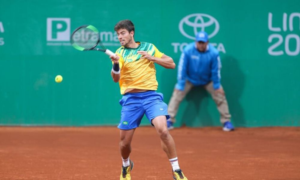 João Menezes Tenista Brasileiro Tóquio