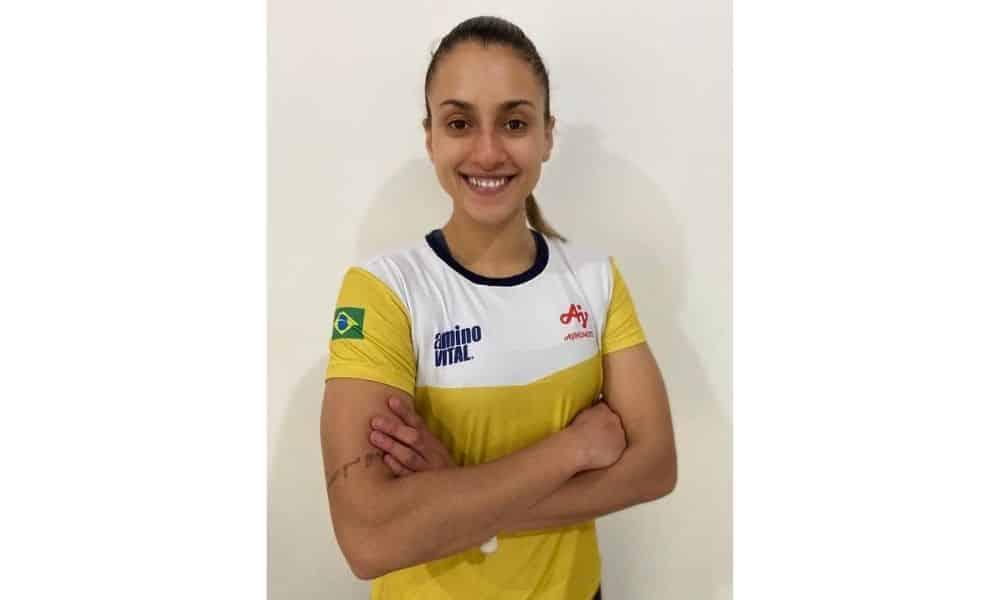 Milena Titoneli é nova integrante do Time Ajinomoto projeto vitória tóquio-2020