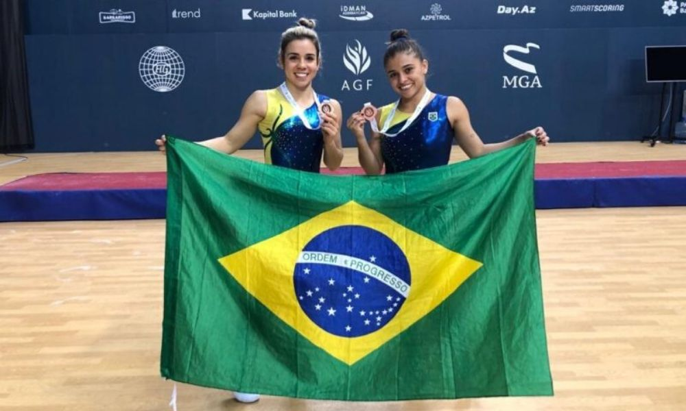 Alice Hellen e Camilla Gomes lideram o ranking mundial