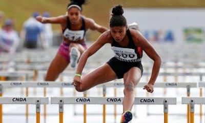 Micaela Rosa 100 m com barreiras