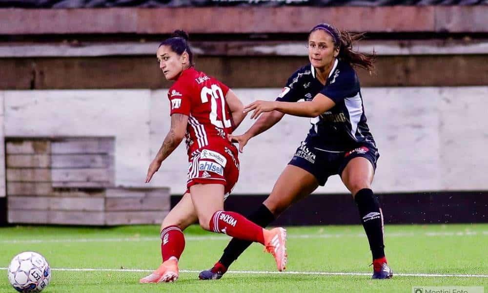 Fernandinha marca em 'jogo de 6 pontos' e Pitea segue invicto no Suecão