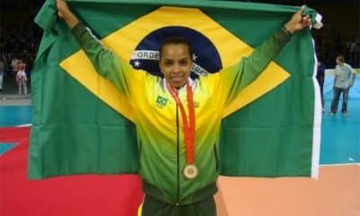 Fofão - Pequim-2008 - Mulher brasileira com mais medalhas olímpicas