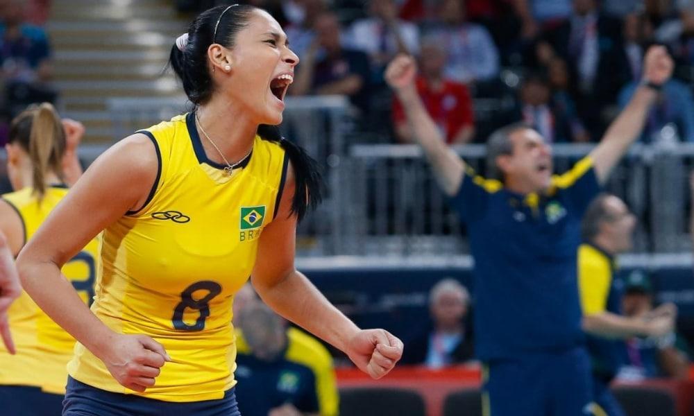 mulheres brasileiras bicampeãs olímpicas - mulheres brasileiras mais vencedoras em olímpiadas - Jaqueline