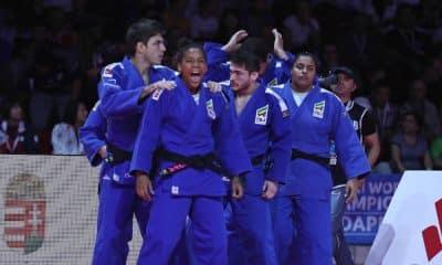 Judô Atletas Brasileiros Equipes Mistas Tóquio Medalha
