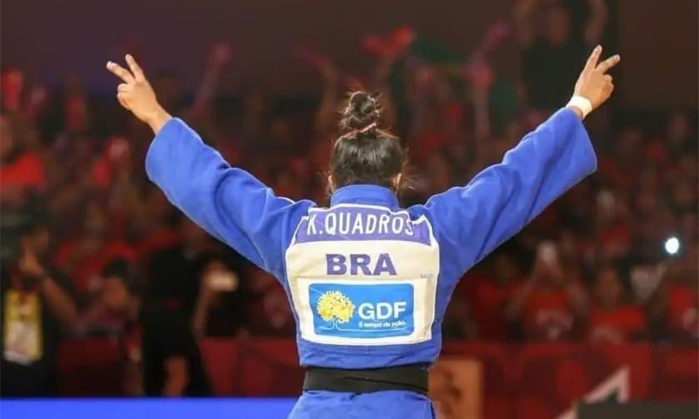 Ketleyn Quadros - Ketleyn Quadros - Primeira mulher brasileira medalhista olímpica - Pequim-2008 - Pequim-2008