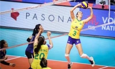 Macris Vôlei Seleção Brasileira Brasil 2019