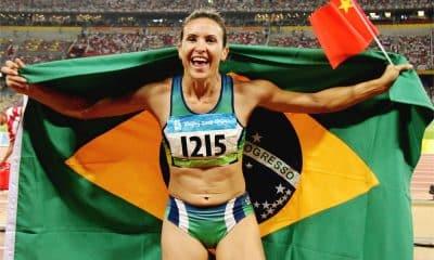 Maurren Maggi - Pequim-2008 - Primeira mulher brasileira campeã olímpica individual