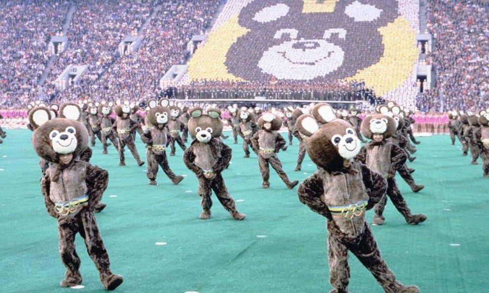Mascote Misha - Moscou 1980 história dos boicotes nos jogos olímpicos