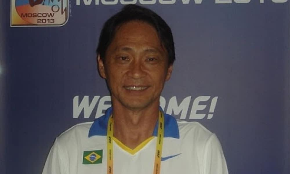 Katsuhico Nakaya - Atletismo - Olimpíada - Jogos Olímpicos - treinador