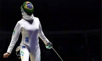 Nathalie Mollhausen esgrima Jogos Olímpicos ao vivo