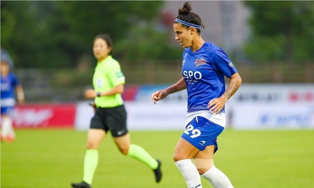 Nathane - KSPO - Neném - Red Angels - Campeonato Sul-Coreano de Futebol Feminino
