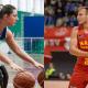 Paola Klokler apresenta basquete em cadeira de rodas para Rafa Luz