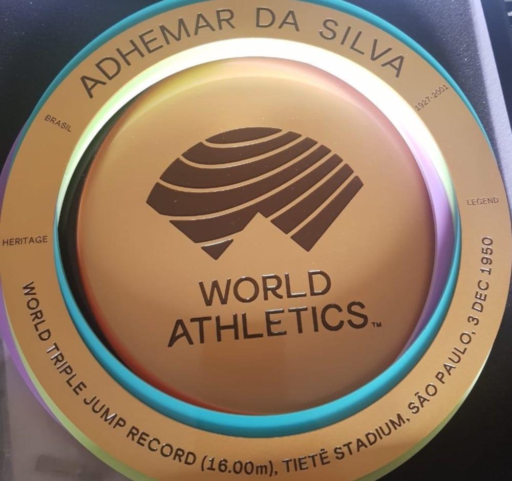 Adhemar Ferreira da Silva Bicampeão Olímpico Atletismo World Athletics
