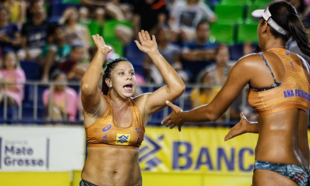 Ana Patrícia e Rebecca - Jogos Olímpicos de Tóquio 2020 - vôlei de praia feminino