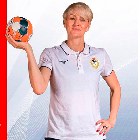 Chana Masson, representante do handebol feminino do Brasil na Champions League