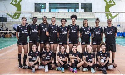 Sesc Flamengo Bernardinho Amanda Jogadoras