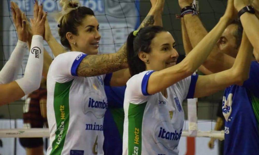 Thaisa Bicampeã Olímpica Itambé/Minas Seleção Brasileira Sheilla