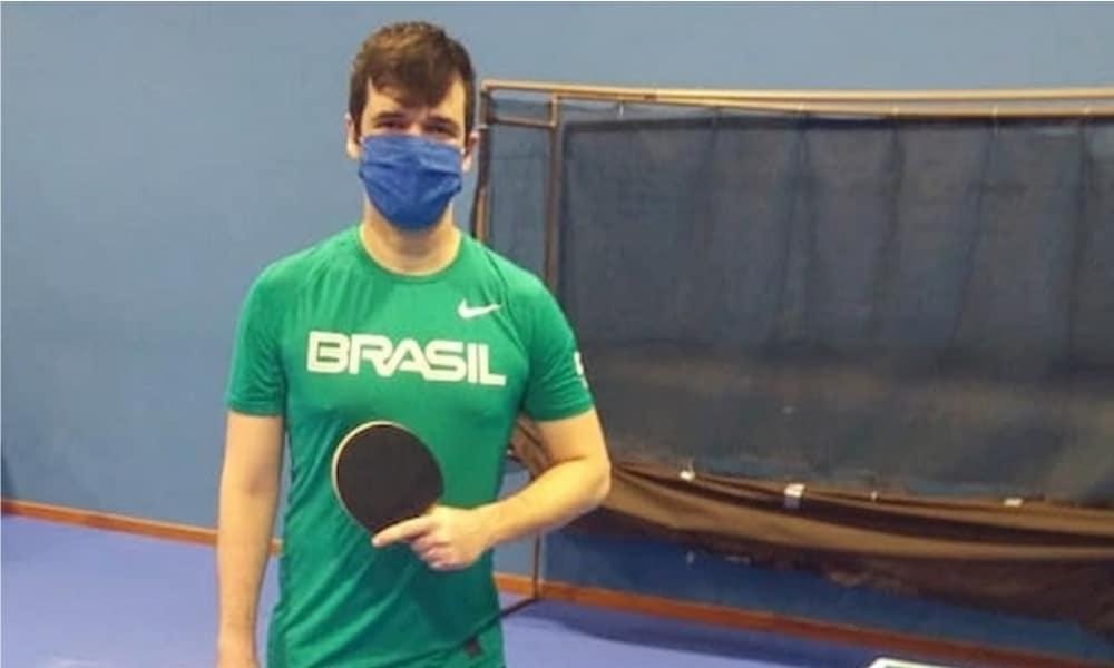 Seleção Paralímpica de tênis de mesa - Israel Stroh - CT Paralímpico - Coronavírus