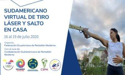 Sul-Americano de Tiro a laser e Salto em Casa