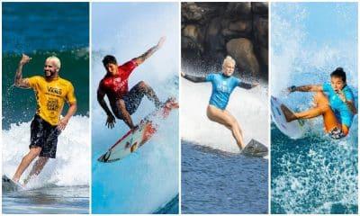 Surfe Tóquio 2020 - Gabriel Medina - Ítalo Ferreira - Tati Weston-Webb - Silvana Lima