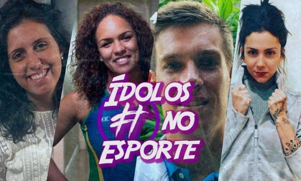 Tag Ídolos no Esporte com Aline Silva e Caio Senise