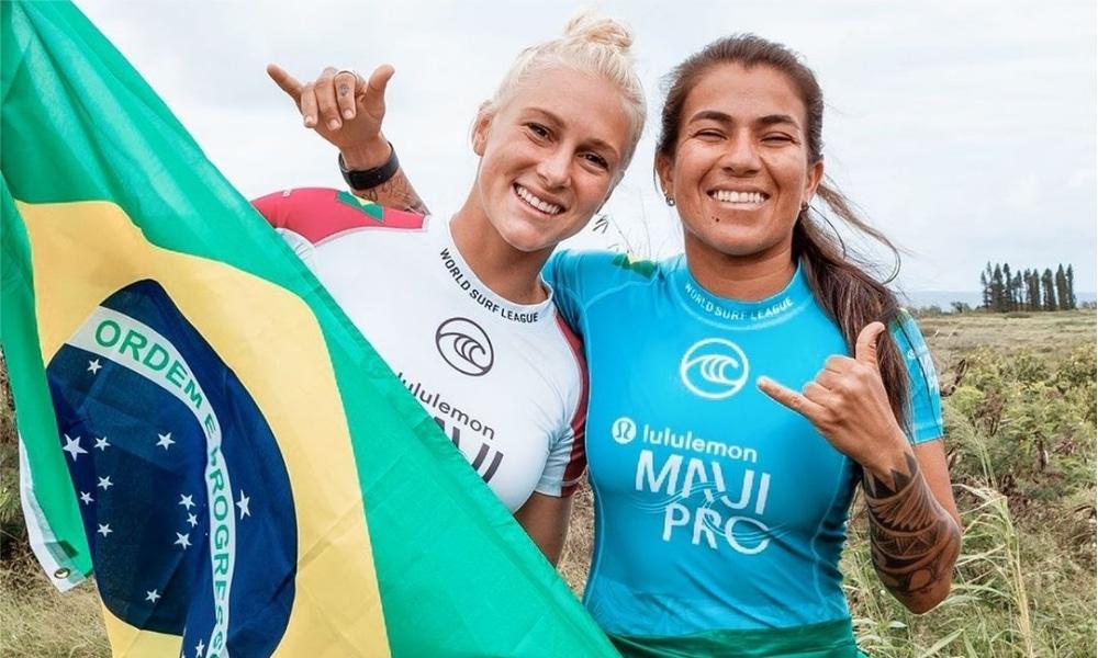 Surfe - Tóquio 2020 - Tati Weston-Webb - Silvana Lima