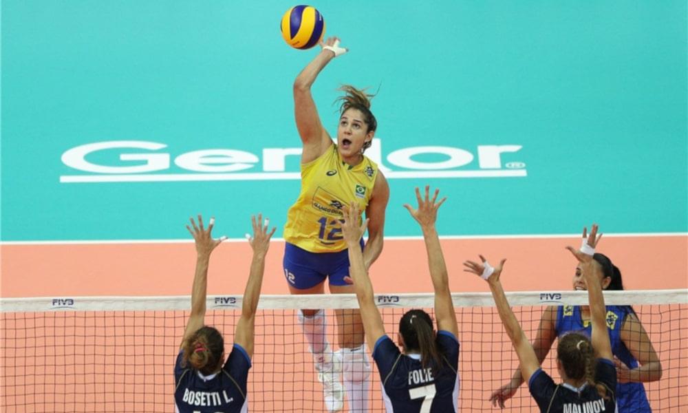 Natália Seleção Brasileira Feminina Vôlei Tóquio