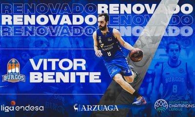Vitor Benite segue no San Pablo Burgos