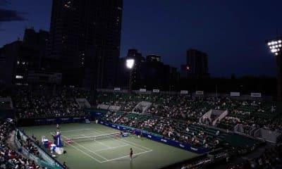 A edição de 2020 do torneio WTA de Tóquio está oficialmente cancelada. A resolução foi confirmada nesta quarta-feira (29) por meio de uma nota oficial. O Comitê Executivo do Toray Pan Pacific Open, competição disputada no Ariake Tennis Park, local que deve receber as partidas de tênis nos Jogos Olímpicos de 2021, decidiu pela suspensão em definitivo do evento em função da pandemia de coronavírus.