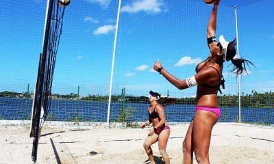 Ana Patrícia e Rebecca vôlei de praia treinos Fortaleza