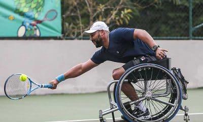 Daniel Rodrigues Tênis em Cadeira de rodas treinos Jogos Paralímpicos